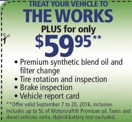 Pr Peak Powell River Coupons Automotive Treat Your